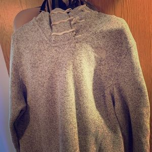 Hooded North Face Sweater